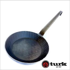 [turk/ターク]鉄製フライパン 24cm ロースト用 /正規品[ドイツ製 調理器具 キッチン用品...