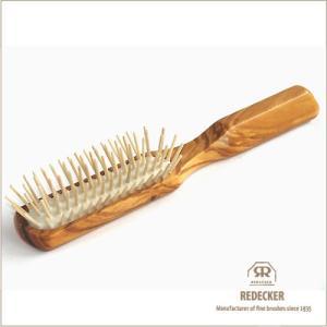 ドイツREDECKER社のウッドピンブラシです。 サイズ全長約20cm(ブラシ含む)/ウッドピン約2...