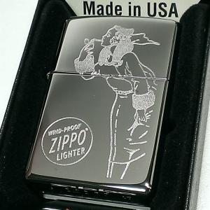 ZIPPO ライター ウィンディ ジッポ おしゃれ 2017USモデル クロームポリッシュ ラスターエッチ 鏡面シルバー US加工 1 かっこいい メンズ ギフト|hayamipro