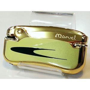 MARVEL マーベルオイルライター ゴールド 昭和レトロ 日本製 フリントオイルライター hayamipro
