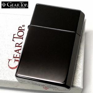 オイルライター ギアトップ 日本製 ライター ブラックニッケルミラー 黒 鏡面 GEAR TOP シンプル 重厚 かっこいい おしゃれ 国産品 メンズ ギフト|hayamipro