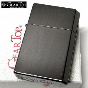 オイルライター ギアトップ 日本製 ライター ブラックニッケルサテン 黒 GEAR TOP おしゃれ シンプル 重厚 かっこいい 国産品 メンズ ギフト|hayamipro