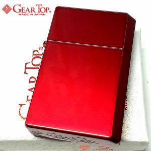 オイルライター ギアトップ 日本製 ライター アップルレッド シンプル 赤 重厚 かっこいい おしゃれ GEAR TOP 国産品 メンズ レディース ギフト|hayamipro