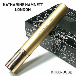 電子ガスライター キャサリンハムネット ラインストーン入り 可愛い スリムライター ゴールド レディース 女性 KATHARINE HAMNETT|hayamipro