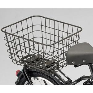 【当店で自転車本体を購入&クッション2個目無料を不要とした方のみ】ビッケポーラー用おおきいバスケット RBK-BKCB 取付工賃込み