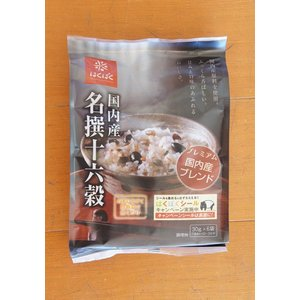 はくばく 名撰十六穀 1箱(30g×6入り)180g×6袋|hayashiya-kome