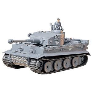 タミヤ 1/35 ミリタリーミニチュアシリーズ No.216 ドイツ陸軍 重戦車 タイガーI 型 初期生産型 プラモデル 35216|hayasho