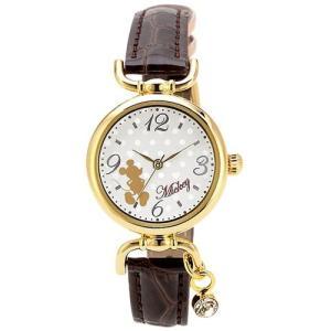 [J-アクシス] 腕時計 [ディズニー]Disney ミッキーマウス WMK-B08-G ブラウン|hayasho