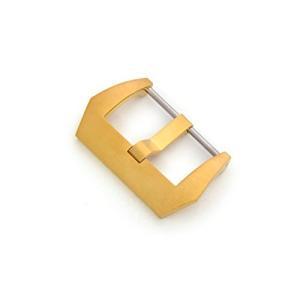 CASSIS[カシス] フィッシュテールバックル 24mm サテンゴールド ステンレススチール素材|hayasho