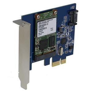 SEDNA???PCI Express mSATA III (6g) SSDアダプタwith 1ポートSATA III with Low Profil|hayasho