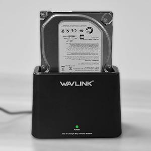 WAVLINK 2.5/3.5インチSATA I/II/III HDD SSD、サポート8TBおよびUASP用USB 3.0 - SATA外付けハード|hayasho