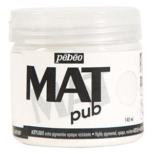 Pebeo マットピュブ 140ml パーマネントホワイト|hayasho