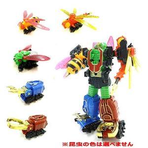 変形ロボット フュージョンロボ 車 昆虫 合体ロボット 昆虫合体 ※昆虫の色は選べません|hayasho
