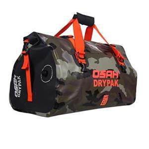 多機能キャリアバッグ ショルダーストラップ付き 反射テープ付き ワンタッチ装着 防水 軽量 丈夫 完全防水 ドラムバッグ ツーリングシートバッグ オー hayasho