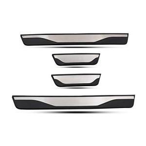 トヨタ 新型 RAV4 50系 ドア スカッフプレート ステップガード カバー ステップボード ドレスアップ カスタムパーツ (RAV4 5代目) hayasho