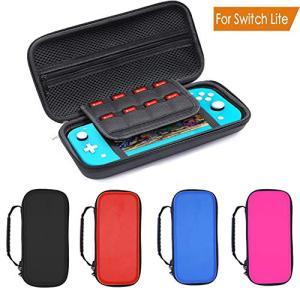 Switch lite Nintendo ケース ニンテンドースイッチライト カバー PU+EVA素材 収納バッグ 耐衝撃 軽量 防水 全面保護 ブル|hayasho