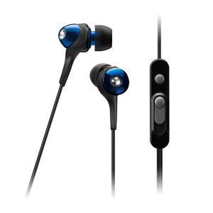 TDK LoR スマホ対応イヤカナル CLEF-Urban for SMARTPHONE ブルー TH-ECAS351BBL|hayate