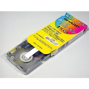 SHARP 純正 A4用 3色リボン 書院 カラーリボンカセット TY-143-CLX|hayate