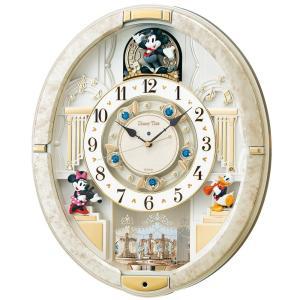 セイコー クロック 掛け時計 ミッキーマウス からくり 12曲  回転飾り ミッキー&フレンズ Disney Time  FW580W hayate