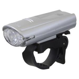 GENTOS(ジェントス) バイクライト 【明るさ80ルーメン/実用点灯6時間/防滴】 シルバー BL-350SR ANSI規格準拠|hayate