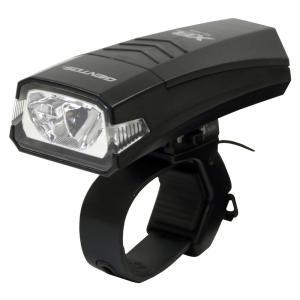GENTOS(ジェントス) バイクライト XB 350B 【明るさ110ルーメン/実用点灯5時間/防滴】 ブラック XB-350B ANSI規格準拠|hayate