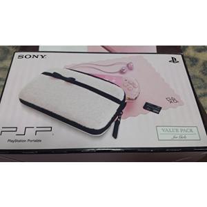 ソニー・インタラクティブエンタテインメント PSP バリューパック for Girls(PSPJ-30019)(ブロッサム・ピンク)の商品画像|ナビ