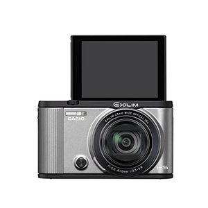 CASIO デジタルカメラ EXILIM EX-ZR1600SR 自分撮りチルト液晶 オートトランスファー機能 Wi-Fi/Bluetooth搭載 シルバー|hayate