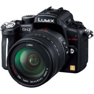 パナソニック デジタル一眼カメラ ルミックス GH2 レンズキット 高倍率ズームレンズ付属 ブラック DMC-GH2H-K|hayate