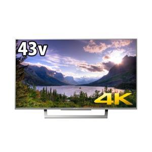 ソニー SONY 43V型 4K対応 液晶 テレビ ブラビア KJ-43X8300D S|hayate