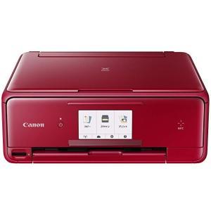 Canon インクジェットプリンター複合機 TS8030 RD レッド|hayate