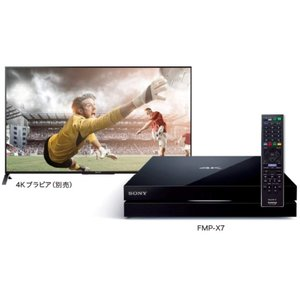 SONY 4Kメディアプレーヤー (スカパー!プレミアムサービスチューナー内蔵) FMP-X7|hayate