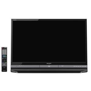 SHARP AQUOS BD/HDD内蔵 液晶テレビ 32型 ブラック系 LC-32DR9B|hayate