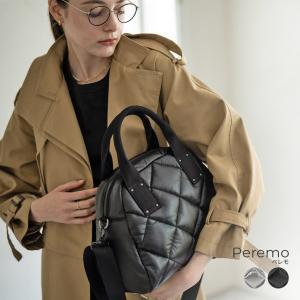 バッグ レディース トートバッグ キルティング ナイロン 通勤 小さめ 中綿 軽量 ボンディング 大人 人気 プレゼント おしゃれ 防水 【 Peremo ペレモ 】|hayni