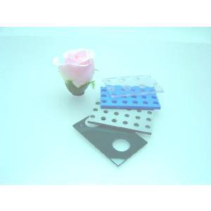塩ビ板パンチングボード 板厚(5ミリ) 330×500 穴サイズ(5ミリ) 穴ピッチ(12ミリ)|hazaiya