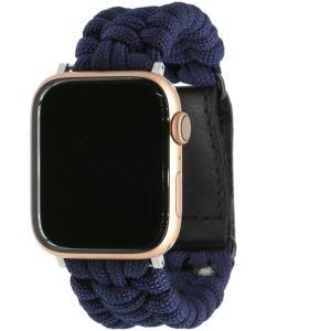 アップルウォッチ/Apple watch全シリーズ対応交換バンド 丈夫なパラコードを編み込んだ個性的なバンド 全11種類 38mm(40mm|hazime-buppan