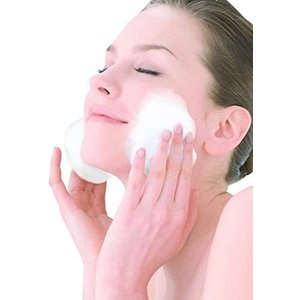 VEYLIN 泡立てネット 泡洗顔 ナチュラルソープ 洗顔ネット スキンベビ 壁掛け用リング付き (10個セット) hazime-buppan