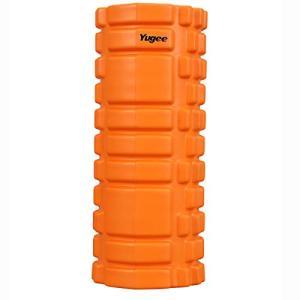 Yugee フォームローラー ヨガポール 筋膜リリース トリガーポイント EVAエコ素材 軽量 ストレッチ エクササイズ フィットネス 肩こ|hazime-buppan
