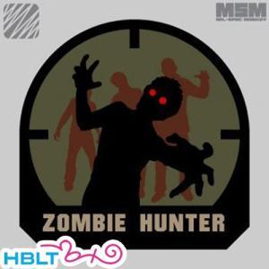 【MSM(ミルスペックモンキー)】パッチ Zombie Hunter(刺繍)