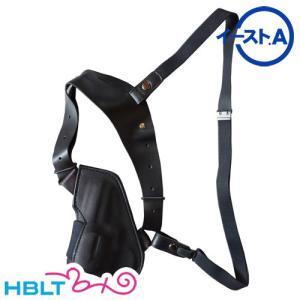 イーストA 革 アップサイド ショルダー ホルスター リボルバー 2.5インチ用 Black 292 BK hblt