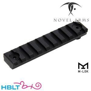 ノーベルアームズ M-LOK アルミニウムレイル 9スロット トイガンパーツ 4560406142354の商品画像|ナビ