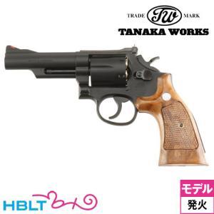 タナカワークス S&W M19 Combat Magnum Ver.3 HW 4インチ(発火式 モデ...