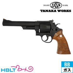 タナカワークス S&W M29 カウンターボアード Ver.3 HW ブラック 6.5インチ(ガスガン リボルバー 本体) hblt
