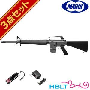 フルセット 東京マルイ M16A1 ベトナムバージョン 電動ガン バッテリー 充電器セット|hblt