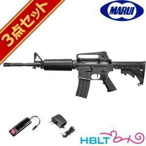 フルセット 東京マルイ M4A1カービン 電動ガン バッテリー 充電器セット|hblt