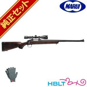 東京マルイ VSR-10 リアルショック ウッドタイプストック スナイパーライフル 純正 スコープセット|hblt
