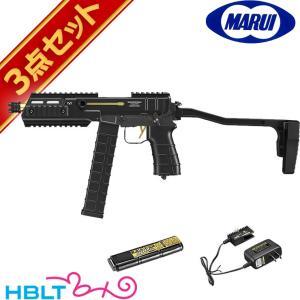 東京マルイ フルセット スコーピオン MOD.M 電動コンパクトマシンガン バッテリー 充電器セット hblt