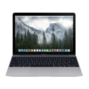 Apple MacBook 12インチ Retinaディスプレイモデル Dual Core Intel Core M 1.1GHz SSD256GB スペースグレイ [MJY32J/A]|hbsshop