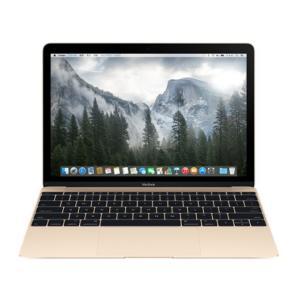 Apple MacBook 12インチ Retinaディスプレイモデル Dual Core Intel Core M 1.1GHz SSD256GB ゴールド [MK4M2J/A]|hbsshop