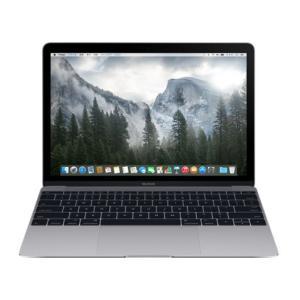 Apple MacBook 1200/12 MJY42J/A [スペースグレイ] 12インチ Retinaディスプレイモデル Dual Core Intel Core M 1.2GHz SSD512GB|hbsshop