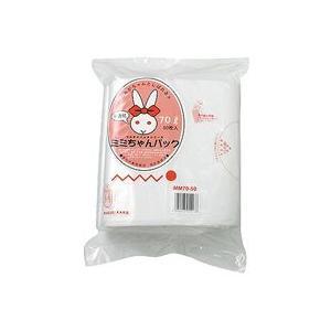 まとめ買い《スズキカコウ》 MM70-50 ミミちゃんパック ゴミ袋 半透明 70L 800×1000mm 50枚×8|hbsshop